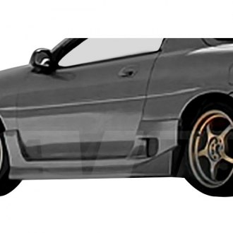 AIT Racing® - Drift Style Fiberglass Side Skirts (Unpainted)