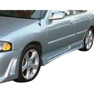AIT Racing® - R33 Style Fiberglass Side Skirts (Unpainted)