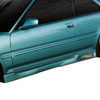 AIT Racing® - Revolution Style Fiberglass Side Skirts (Unpainted)