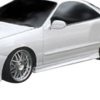 AIT Racing® - Extreme Style Fiberglass Side Skirts (Unpainted)