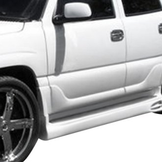 AIT Racing® - EXE Style Fiberglass Side Skirts (Unpainted)