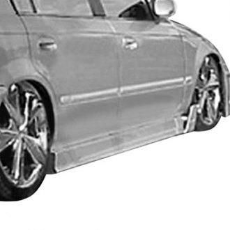 AIT Racing® - MGN Style Fiberglass Side Skirts (Unpainted)