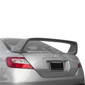 2008 Honda Civic Si Custom Style Rear Spoilers Carid Com