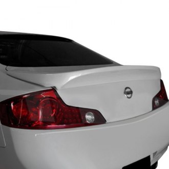 AIT Racing® - IN Style Fiberglass Rear Lip Spoiler (Unpainted)