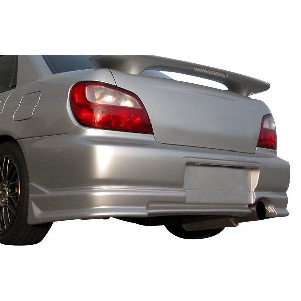 Image may not reflect your exact vehicle! AIT Racing® - CW Style Fiberglass Rear Bumper Cover (Unpainted)