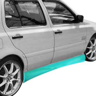 AIT Racing® - GT Style Fiberglass Side Skirts (Unpainted)