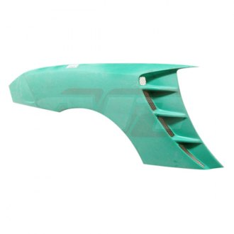 AIT Racing® - SC2 Style Fiberglass Rear Quarter Panel Overlays (Unpainted)