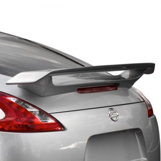 AIT Racing® - SMO Style Fiberglass Rear Spoiler (Unpainted)