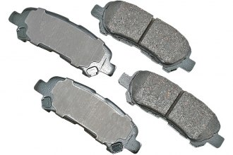 Akebono® ACT1325 - Pro-ACT™ Ultra-Premium Ceramic Rear Brake Pads