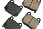 Akebono® - Performance™ Ultra-Premium Ceramic Rear Brake Pads