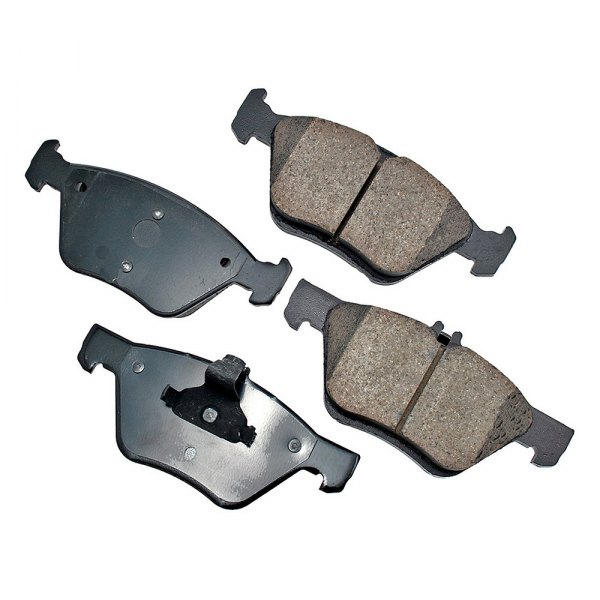 Akebono eur853a mercedes e class 2006 euro ultra for Mercedes benz e350 brake pads replacement