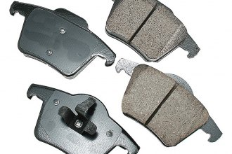 Akebono® EUR980 - EURO™ Ultra-Premium Ceramic Rear Brake Pads