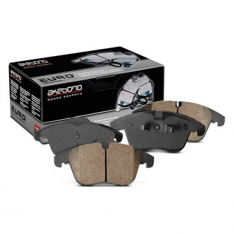 Akebono® EUR1341 - EURO™ Ultra-Premium Ceramic Rear Brake Pads