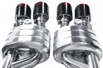 Akrapovic® - Slip-On Line Stainless Steel Exhaust System with Quad Rear Exit