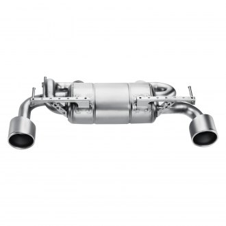 Akrapovic® - Slip-On Line Stainless Steel Exhaust System with Split Rear Exit