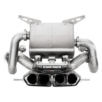 Akrapovic® - Slip-On Line Titanium-Inconel Exhaust System with Quad Rear Exit