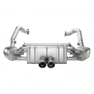 Akrapovic® - Slip-On Line Titanium Exhaust System with Dual Rear Exit