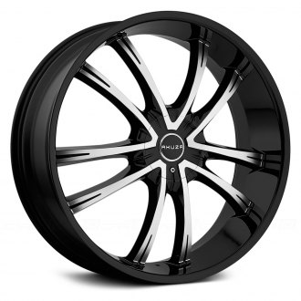 AKUZA® - SHADOW Gloss Black with Machined Face