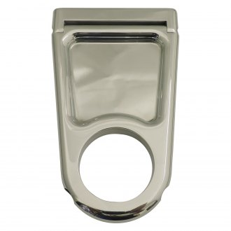 All American Billet® - Closed Window Style Polished Column Drop Bracket