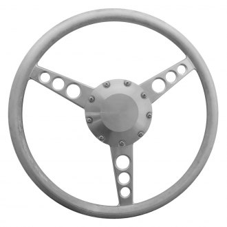 All American Billet® - 3-Spoke Classic Style Aluminum Steering Wheel for 9-Bolt Pattern Column