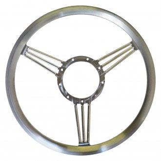 All American Billet® - 3-Spoke Banjo Style Aluminum Steering Wheel for 9-Bolt Pattern Column