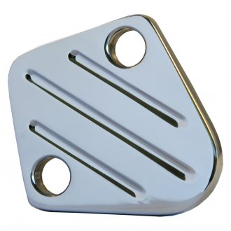 All American Billet® - Polished Fuel Pump Block-Off Plate