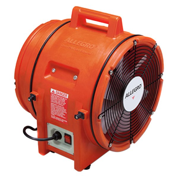 Pvc Fans And Blowers : Allegro quot plastic axial blower