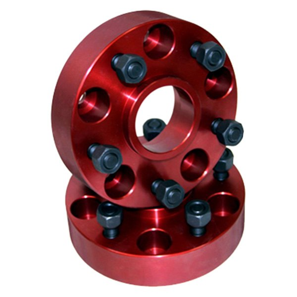 "Alloy USA® - 1.25"" Thick Wheel Spacers, 5 On 4.5 Bolt Pattern"