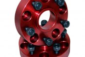 "Alloy USA® - 1.25"" Thick Wheel Spacers, 5 On 5 Bolt Pattern"