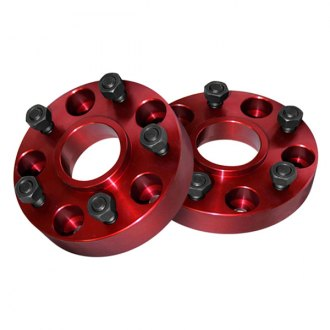 Alloy USA® - Red Aluminum Wheel Spacer