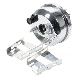 "AllStar Performance® - 7"" Single Diaphragm Chrome Power Brake Booster"