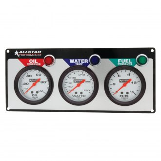 AllStar Performance® - 3-Gauge Panel with Allstar Gauges