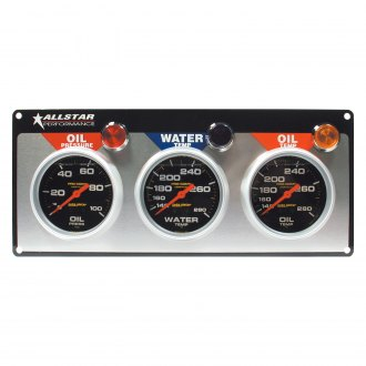 AllStar Performance® - Auto Meter Pro-Comp Liquid Filled Gauge Panels with Auto Meter Gauges