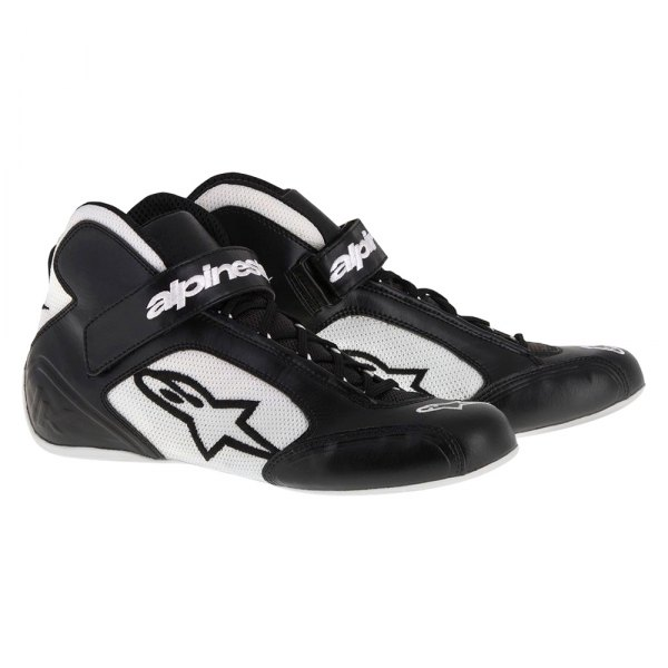 Black//White Alpinestars 2711518-12B-8.5 Tech 1-K Start Shoes Size 8.5