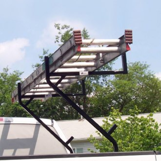 Amer-Rac® - 3 Ladder Position Single Sided Pickup Truck Rack