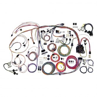 automotive wiring cables connectors at carid com american autowire® highway panel wiring kit