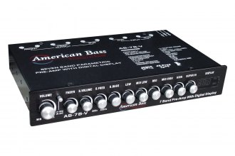 American Bass® - 7-Band High End Equalizer with Voltage Display
