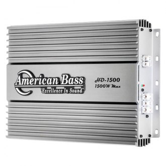 American Bass® - HD Series Class D Mono 1500W Amplifier