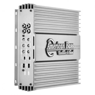 American Bass® - HD Series Class D 4-Channel 600W Amplifier