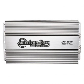 American Bass® - HD Series Class D Mono 2500W Amplifier