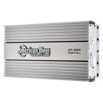 American Bass® - HD Series Class D Mono 3500W Amplifier