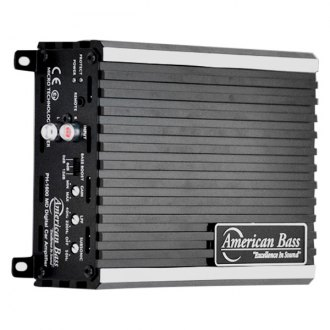 American Bass® - Phantom Series Class D Mono 1600W Amplifier