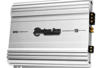 American Bass® - SQ Series Class AB Mono 1150W Amplifier