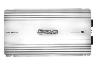 American Bass® - SQ Series Class AB 2-Channel 2000W Amplifier