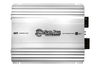American Bass® - SQ Series Class AB 4-Channel 800W Amplifier
