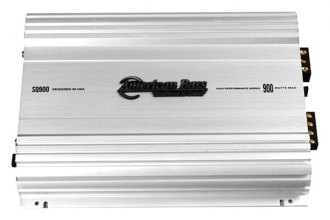 American Bass® - SQ Series Class AB 2-Channel 900W Amplifier