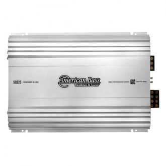 American Bass® - SQ Series Class AB 4-Channel 600W Amplifier