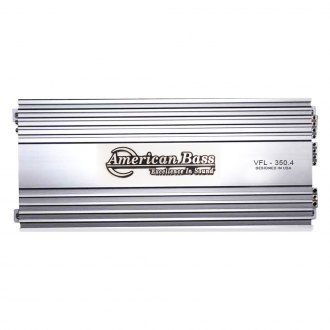 American Bass® - VFL Series Class AB 4-Channel 1000W Amplifier
