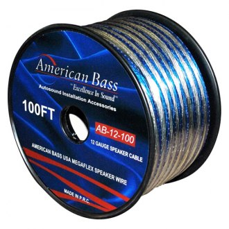 American Bass® - Megaflex Speaker Cable