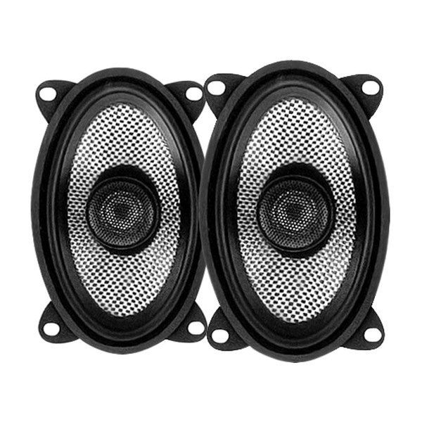 "American Bass® - 4"" x 6"" 2-Way SQ Series 100W Coaxial Speakers"